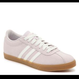 Adidas Courtset suede 3 stripe sneakers